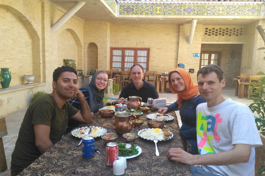 Lunch in Shiraz