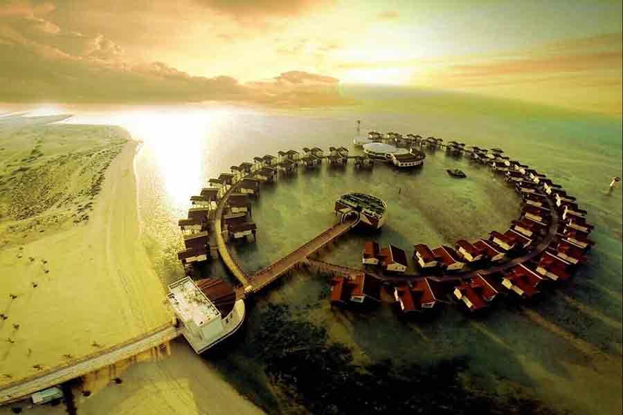Toranj Marine Hotel in Kish Island