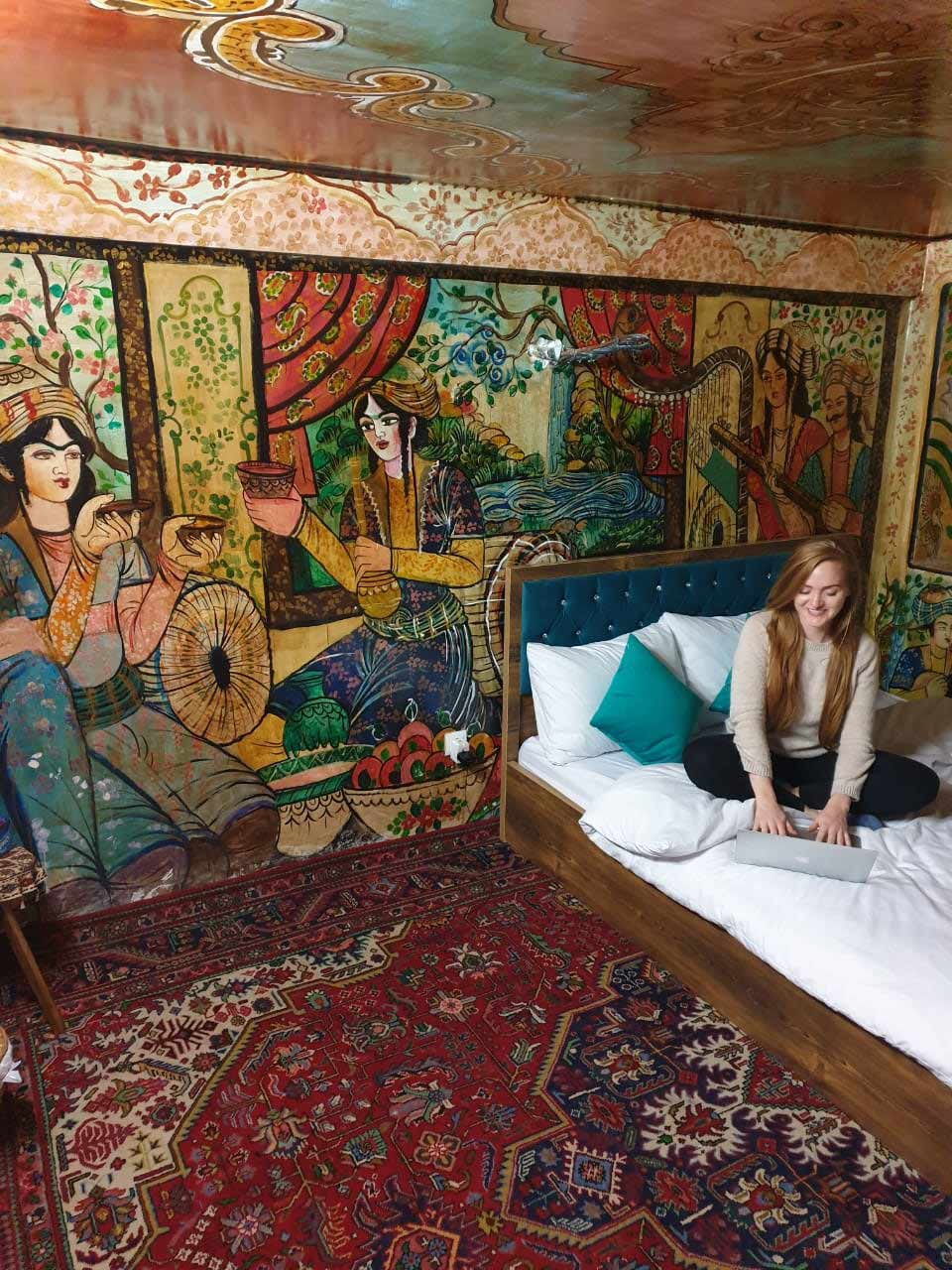 Iranian Traditional House Tour Inboundpersia Com Inbound Persia Travel Agency