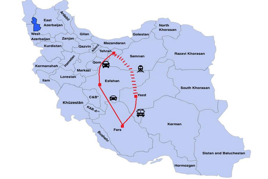 Persian Life Tour Destination