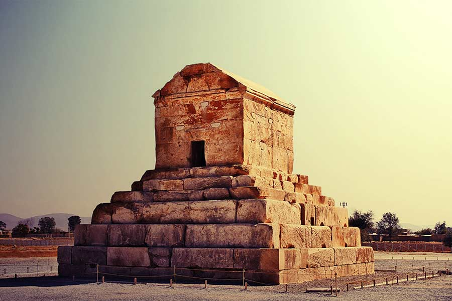 Pasargadae. Tomb of Cyrus the Great