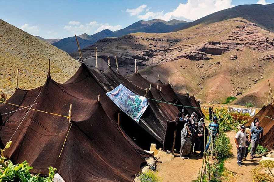 Qashqaiis Tent