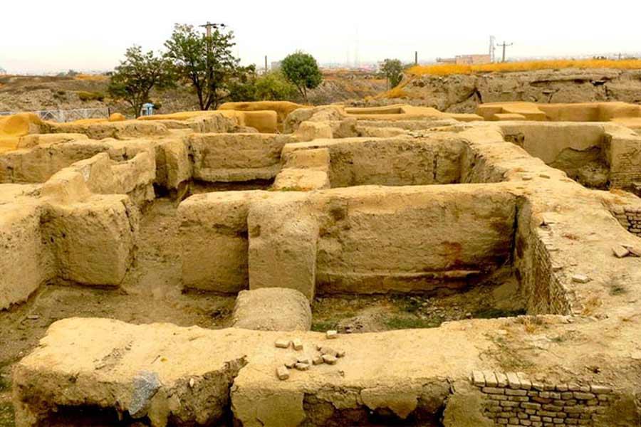 Hegmataneh Pre Islamic Hills