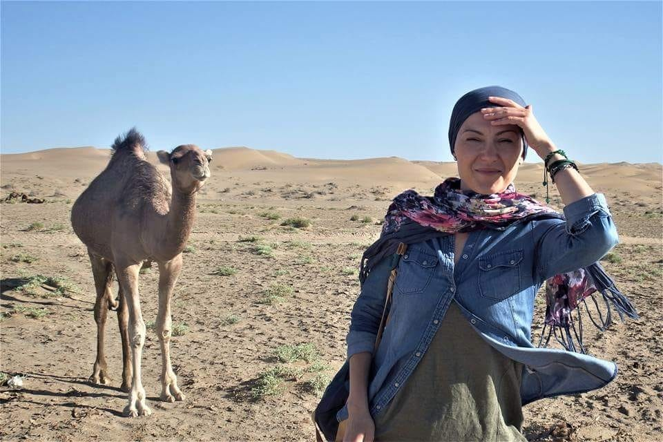 Camel Riding in Varzaneh Desert