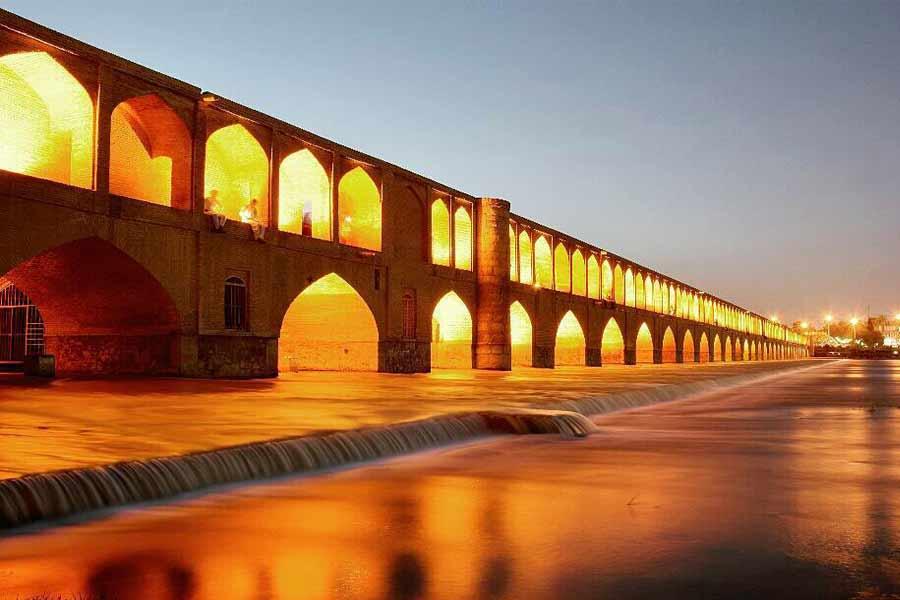 Sio-Se-Pol Bridge ,Isfahan Iran