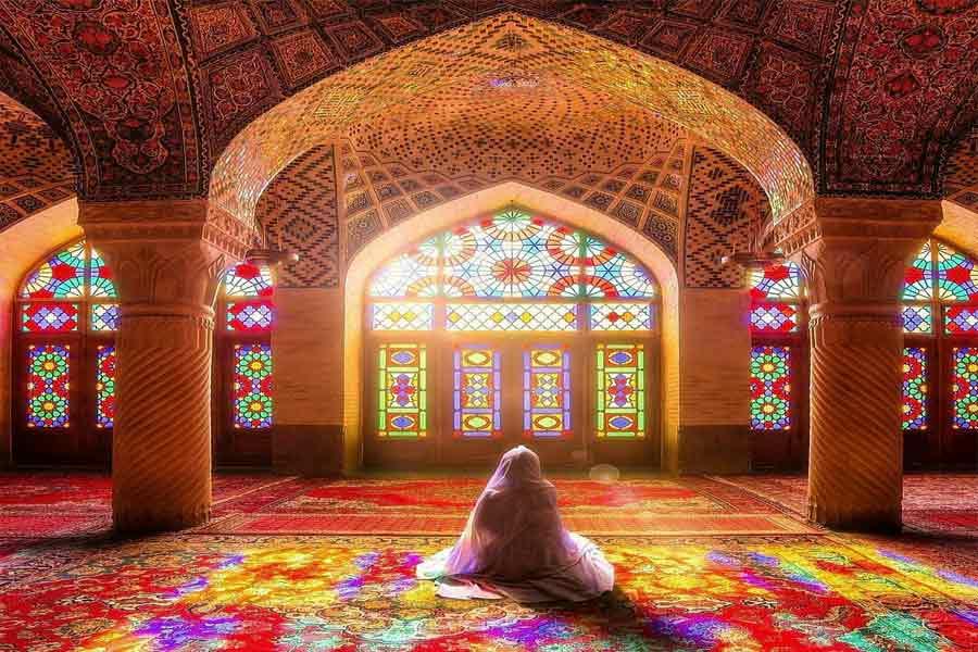 Nasir Al Mulk Mosque , Pink Mosque