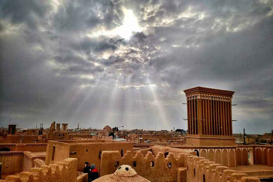 Historical City of Yazd ,Iran