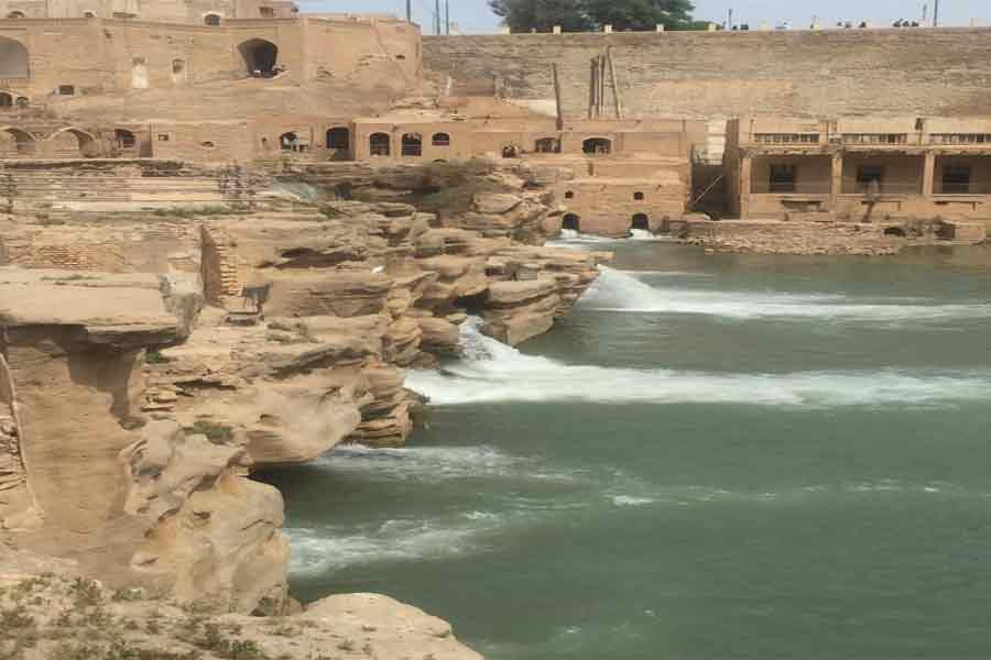 Shushtar Waterfalls