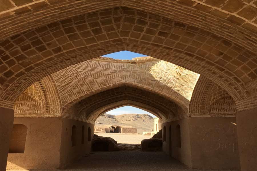 Dakhmeh or Towers of silence , Yazd Iran