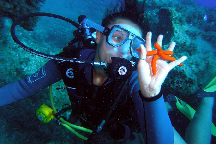 Scuba Diving in Kish Island