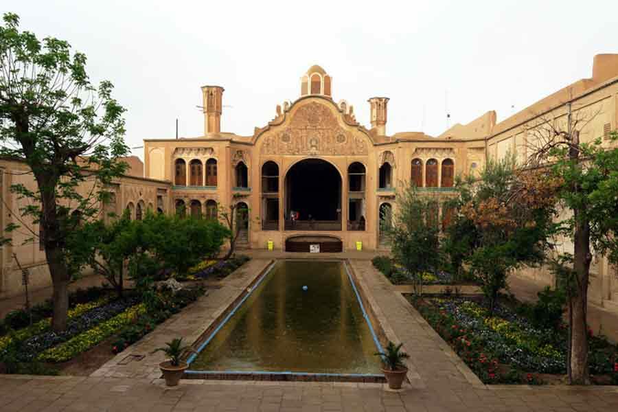 Borujerdi House , Kashan Iran