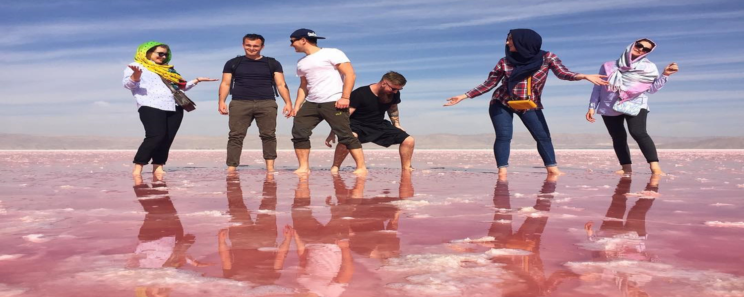 Pink Lake,Shiraz