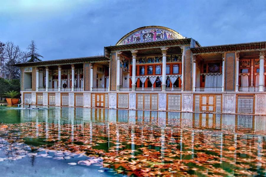 Afif Abad Garden ,Shiraz Iran