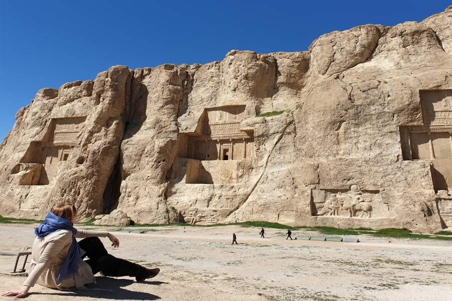 Necropolis (Naghshe Rostam )
