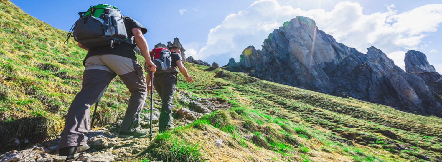 Hiking and Trekking in Dena