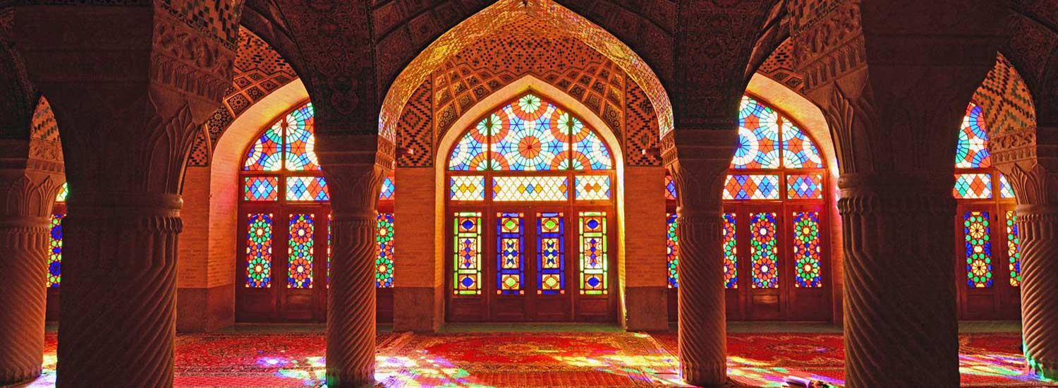 Iranian Mosques the Rainbow of Light and Spirituality