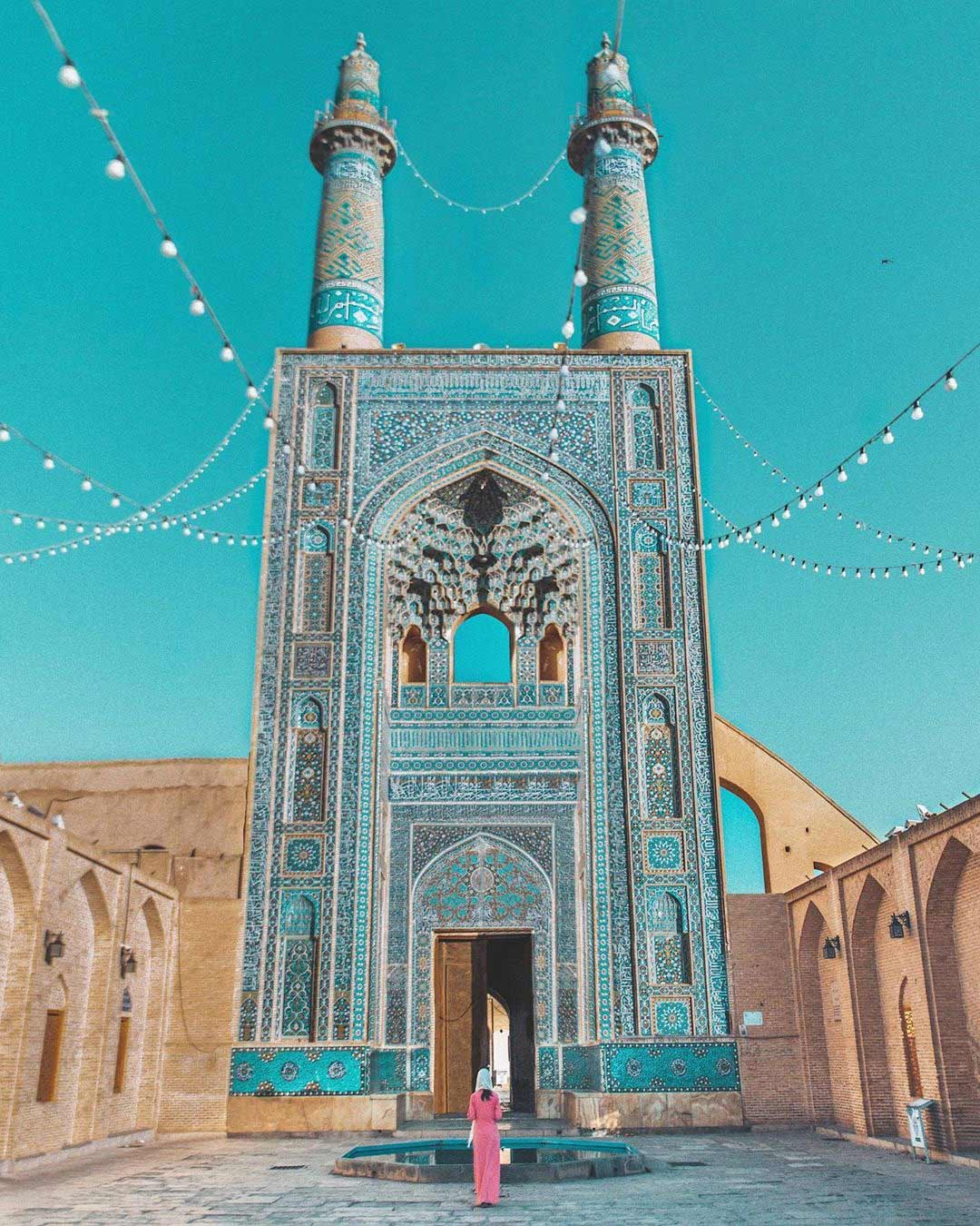 Jameh Mosque of Yazd ,Iran