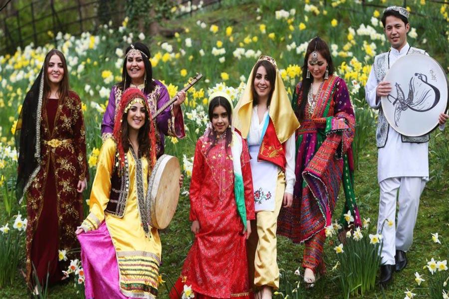 Iranian new year . Nowruz. Inbound Persia Travel Agency