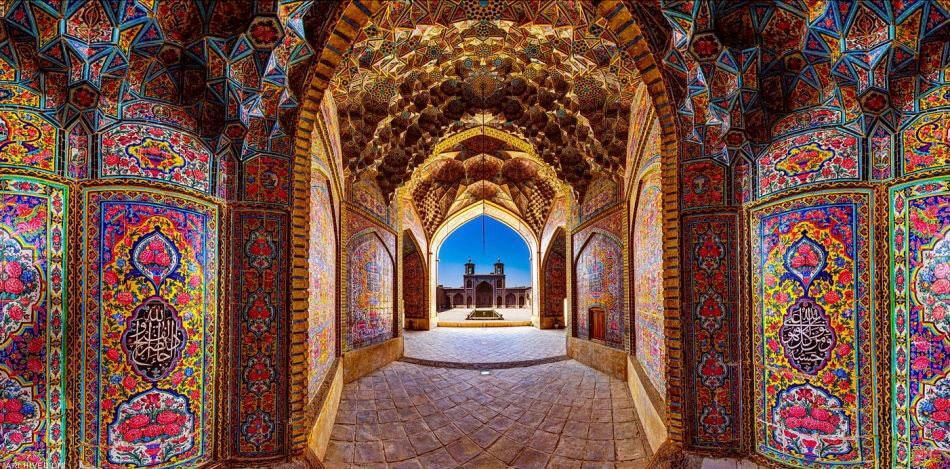 Nasir al Mulk Mosque ,Shiraz Iran