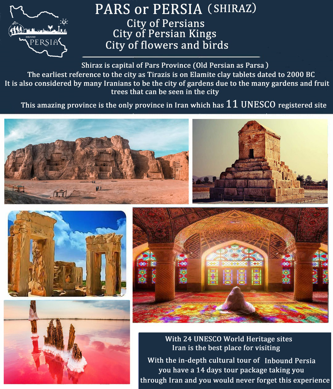 Shiraz city. Inbound Persia Travel Agency