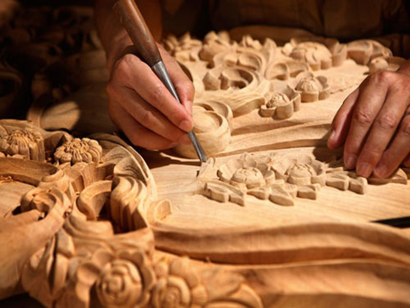 Woodcarving , Shiraz Iran