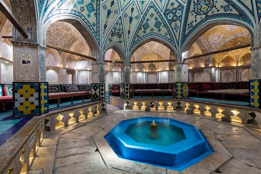 Sultan Amir Ahmad Bathhouse , Kashan Iran