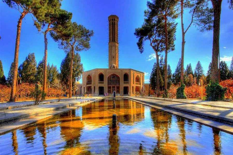 Dolat Abad Garden ,Yazd Iran