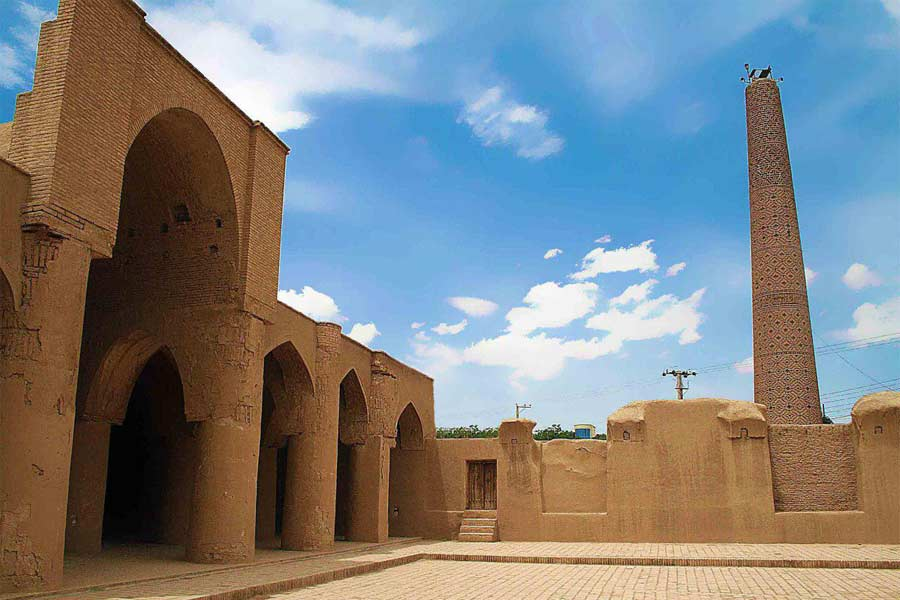 Jameh Mosque of Fahraj ,Iran