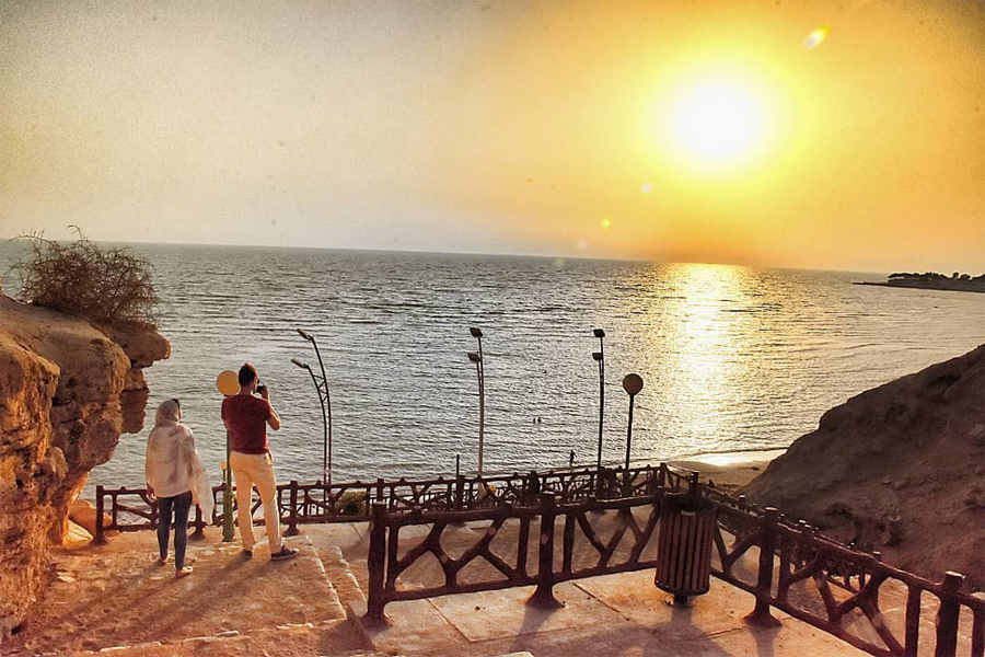 Rishahr Beach , Bushehr Iran