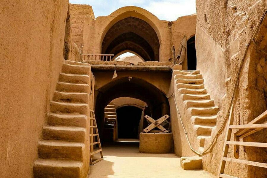 Saryazd Castle ,Yazd Iran