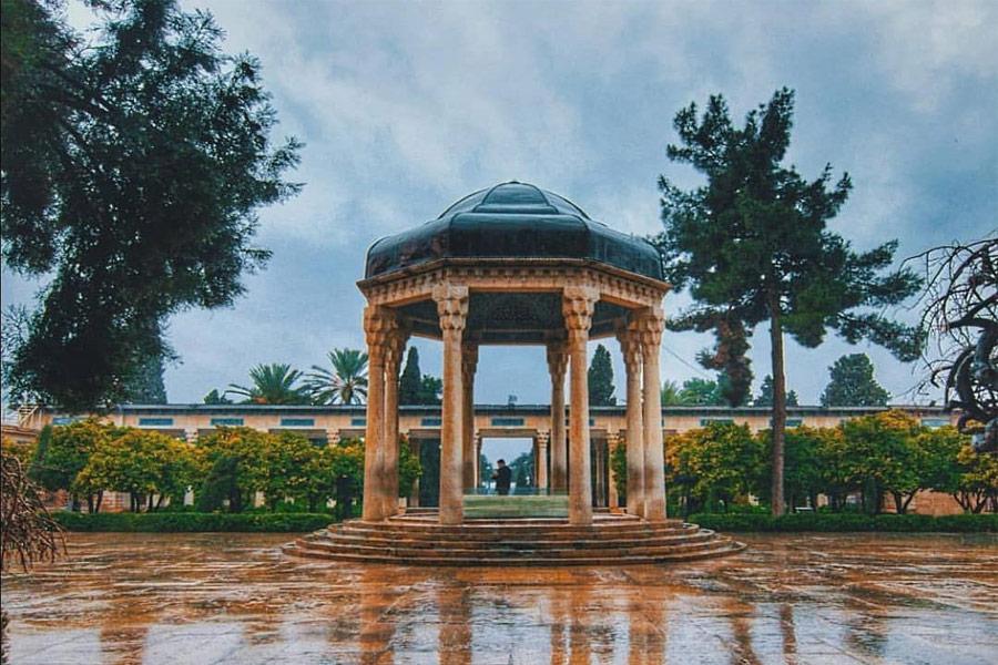 Hafez Tomb, Shiraz Iran