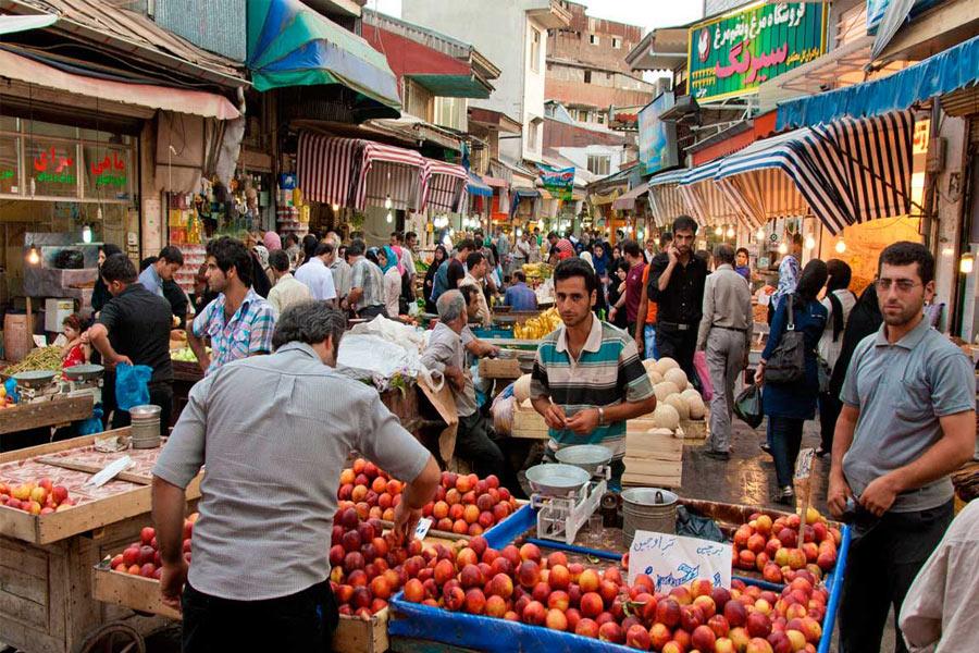 Rasht Grand Bazaar